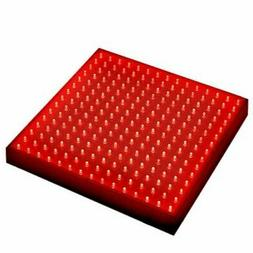 HQRP 660 nm 14W 225 LED Pure Red Grow Light Panel for Growin