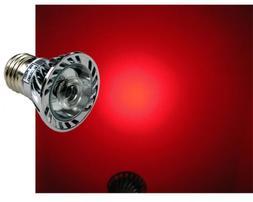 LED Red 630nm Grow Light 1W - Standard Base 120V