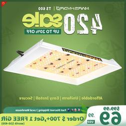 MarsHydro TS 600W LED Grow Light Sunlike Full Spectrum Veg B