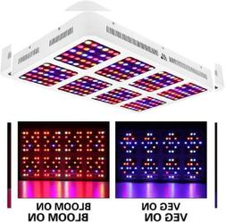 MORSEN Reflector-Series 1200W LED Grow Light Full Spectrum f