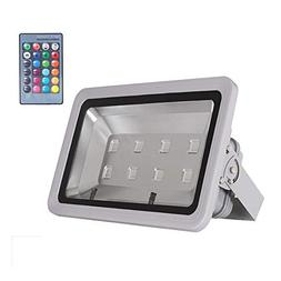 WEDO 400W RGB Led Flood Light IP66 Waterproof Gray Shell 16