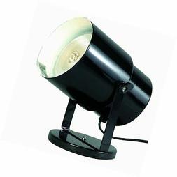 Satco MultiPurpose Pivoting Spot Light Black 77394BLK