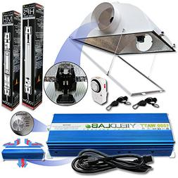 Yield Lab Pro Series HPS+MH 1000W Air Cool Hood Double Ended