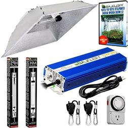 Yield Lab Pro Series HPS+MH 1000W XXL Hood Double Ended Comp