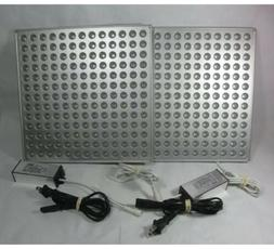 Set of 2 Roleadro HY-MD-D169-S75W-RB LED Grow Light Panels R