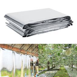 Silver Plant PETP Reflective Film Garden Greenhouse Grow Lig