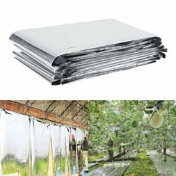 Silver Plant Reflective Film Garden Indoor Greenhouse Grow L