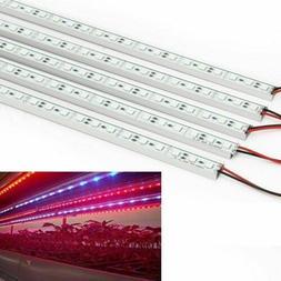 5x 5050 LED Grow Light Rigid Strip Hard Lamp Full Spectrum f