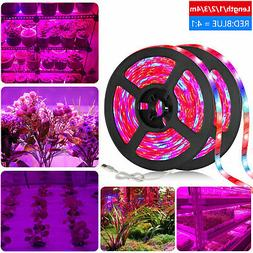 SMD 5050 LED Strip Grow Light Lamp Full Spectrum For Plant V