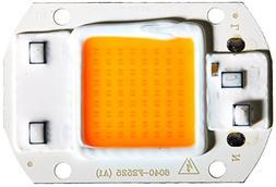 Yiding 110V/220V 20W/30W/50W Full Spectrum LED COB Chip Grow