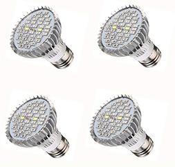 JKLcom Full Spectrum E26 LED Grow Light Bulb 40W Grow Plant