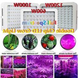 600W 1000W 1200W Full Spectrum LED Grow Light For Veg Hydro