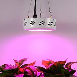 Full Spectrum 50W UFO Grow Light LED Lamp UV IR Grow Tent Li