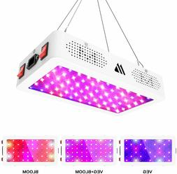 Morsen T-600w Led Grow Light Full Spectrum Double Switch Dai