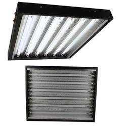 Apollo Horticulture T5 2 Feet/6 Tube Commercial Fixture with