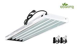Grow Co. T5 Fluorescent Fixture 6500K HO Bulbs Included for