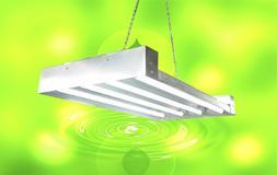 DuroLux T5 HO Grow Light - 2 FT 4 Lamps - DL8204 Fluorescent