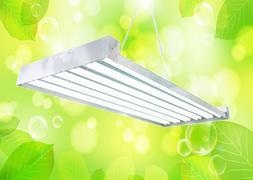 DUROLUX T5 HO STEEL GROW LIGHT | 4 FT 12 BULBS | DL8412T FLU