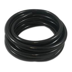 thcity black flexible vinyl tubing