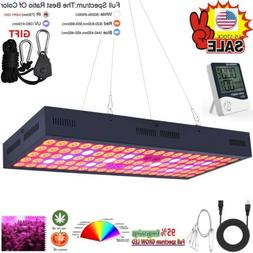 Thermometer Humidity Meter+5000W LED Grow Light Strip Hydro