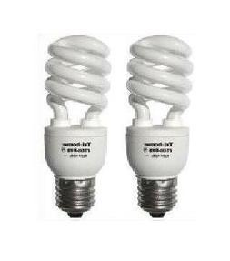 TWO 150W Output CFL Fluorescent Light Bulbs 33 Watts Dayligh