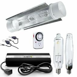 iPower 1000W HPS MH Grow Light System Kits Cool Tube Reflect