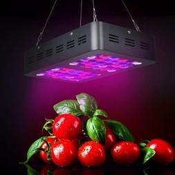 iPower 300W 100 LEDs Grow Light Full Spectrum Veg Flower Ind