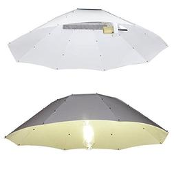 "Yescom 42"" Reflector Hood Umbrella Shade for HPS MH Grow Lig"