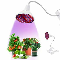 US LED Grow Light 200LED UV IR Growing Lamp for Indoor Plant
