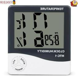 V99 GROW Light Digital LCD Indoor Hygrometer Thermometer Roo