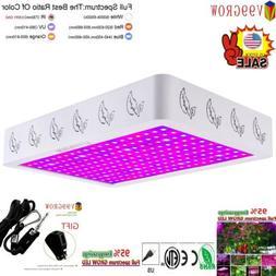 V99GRO 1200/2000/4000W LED Grow Light Full Spectrum Veg&Bloo