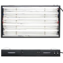 VG 24 T5 Grow Light Hydroponics 4 Lamps 6500K Bulbs 2 ft Veg