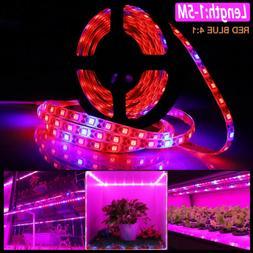 Waterproof LED Grow Light Strip Full Spectrum Lamp for Indoo