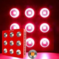 YaeTek 800W/1200W/1800W Full Spectrum LED Grow Light for Pla